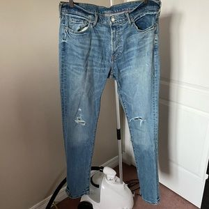 Abercrombie and Fitch Athletic Skinny Jeans